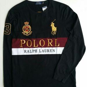 Men Polo Ralph Lauren Long Sleeve Tee Size Large